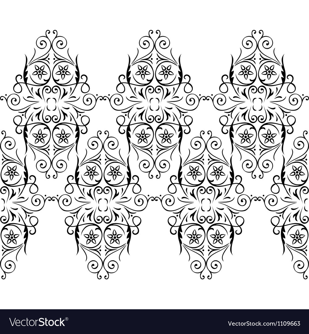 Border lace vector | Price: 1 Credit (USD $1)