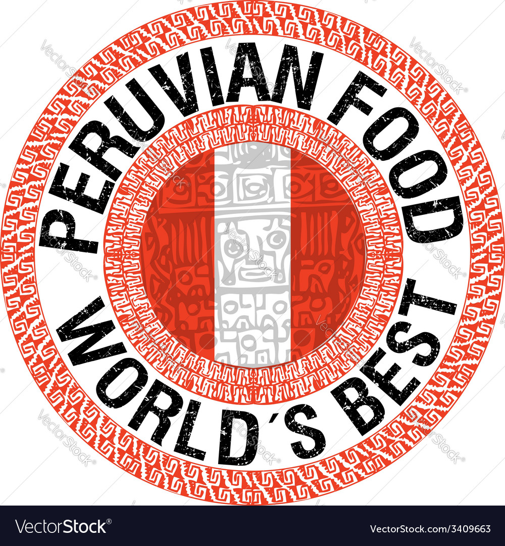 Peruvian food vector | Price: 1 Credit (USD $1)