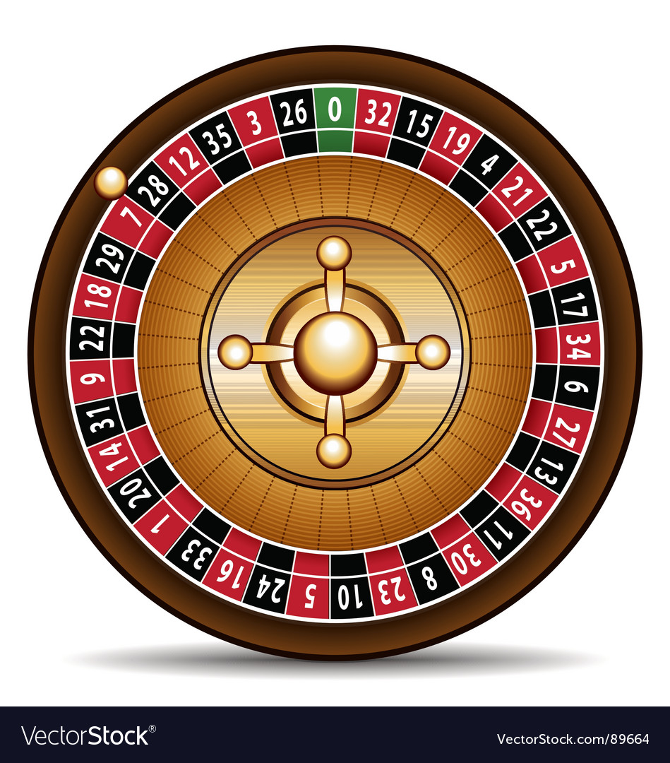 Casino roulette vector | Price: 1 Credit (USD $1)