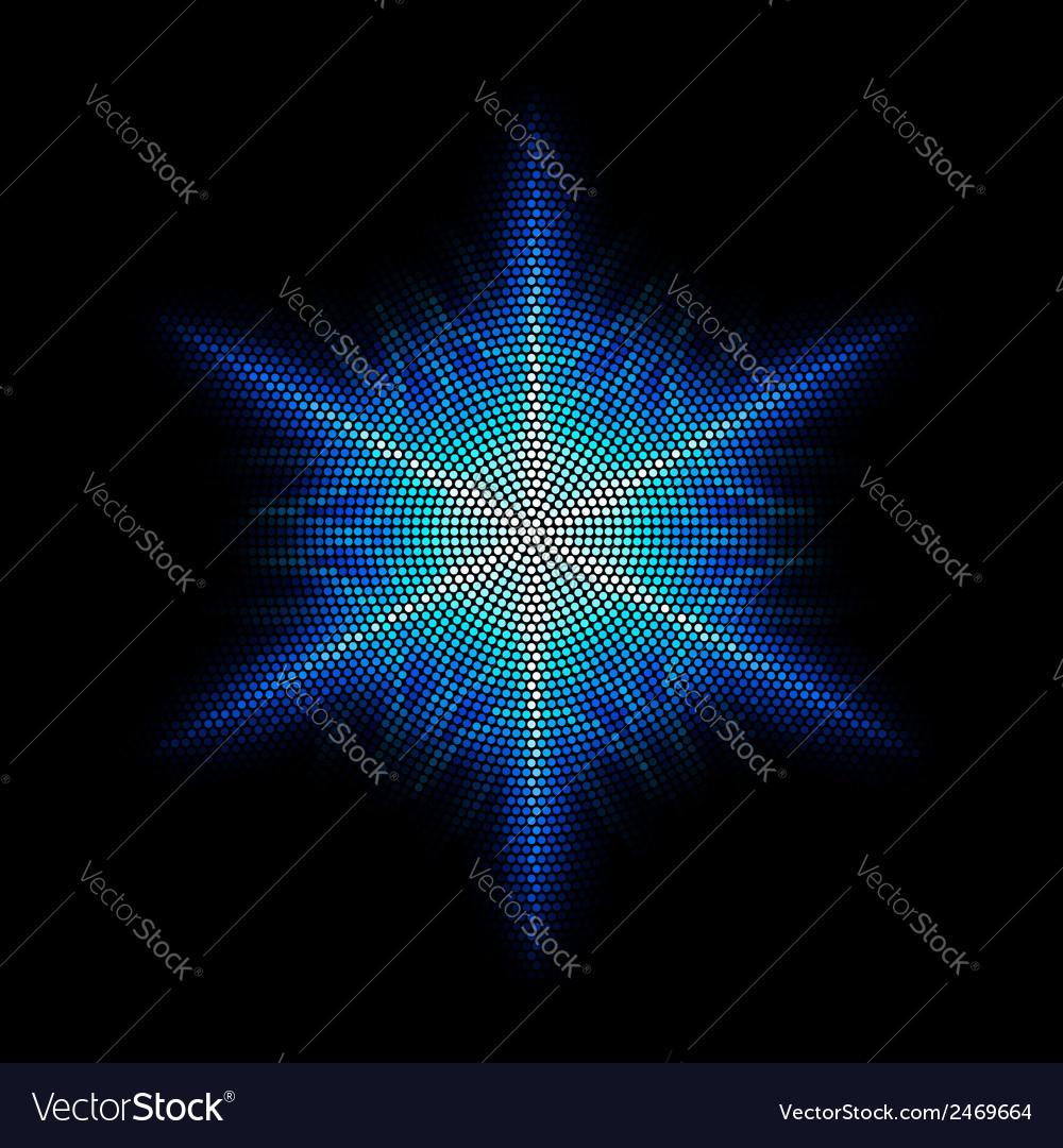 Dots digital form vector   Price: 1 Credit (USD $1)