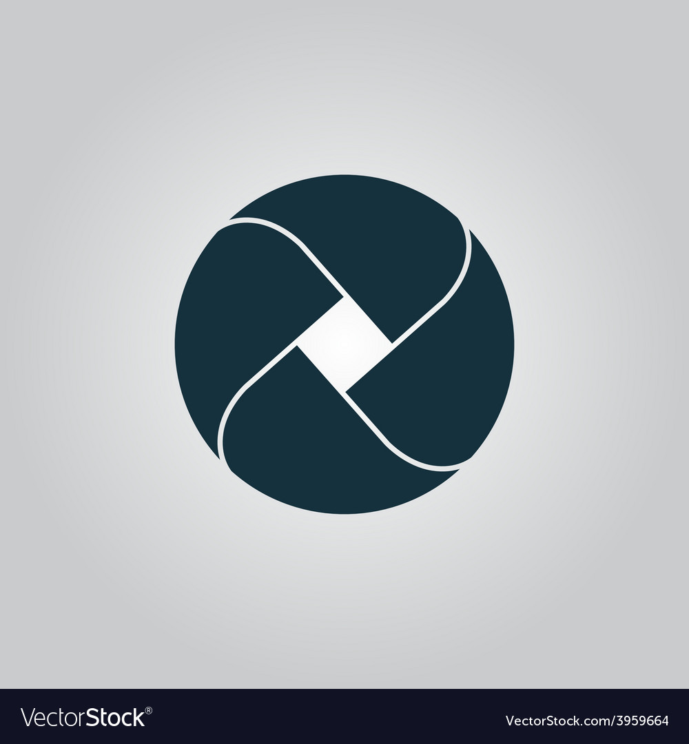 Loop icon vector