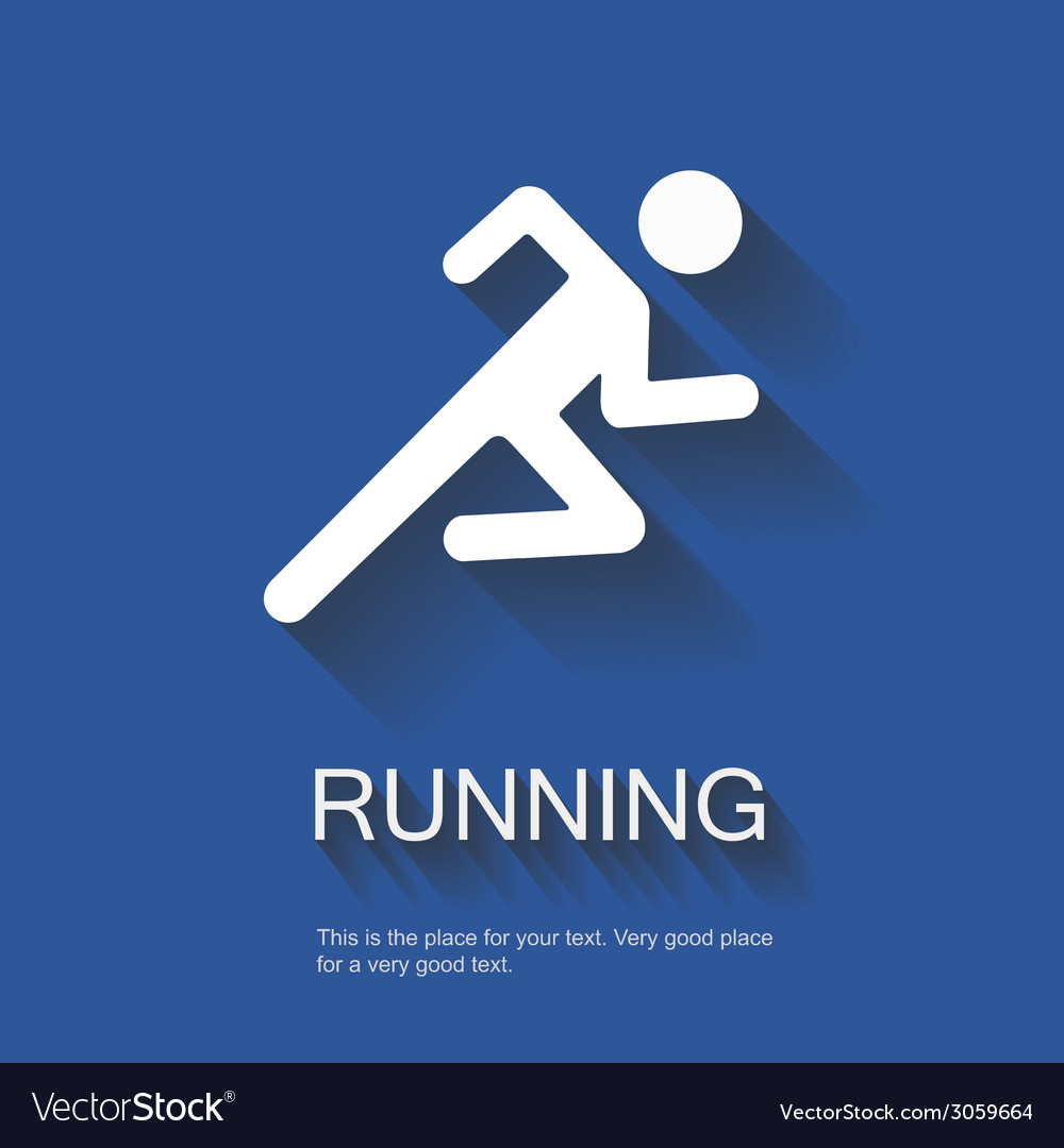 Running vector | Price: 1 Credit (USD $1)