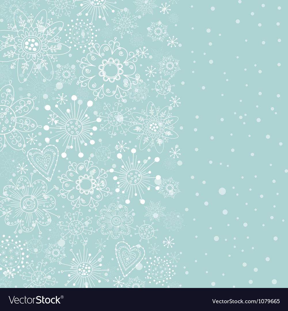 Light blue vertical cristmas background vector | Price: 1 Credit (USD $1)