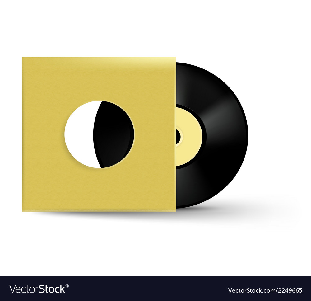Vinyl object vector | Price: 1 Credit (USD $1)