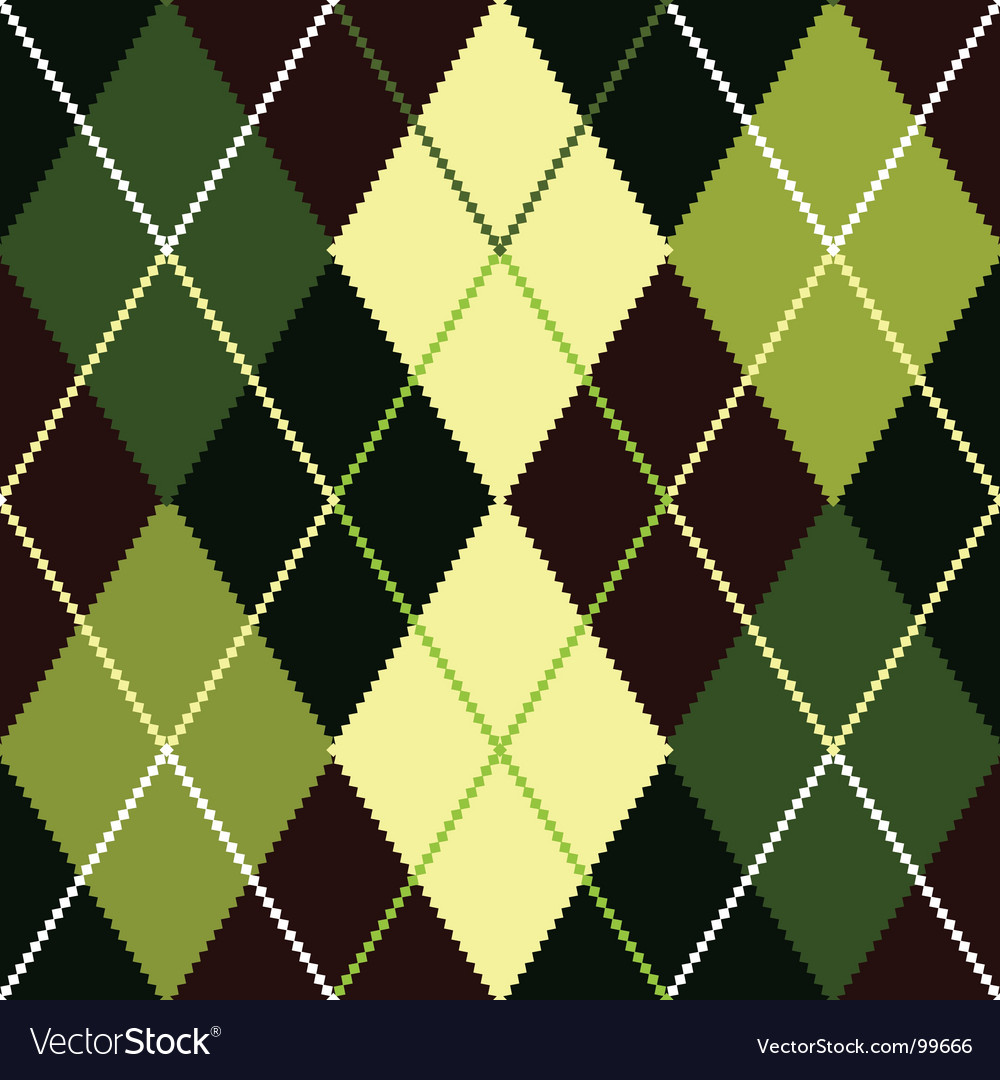 Argyle pattern vector | Price: 1 Credit (USD $1)