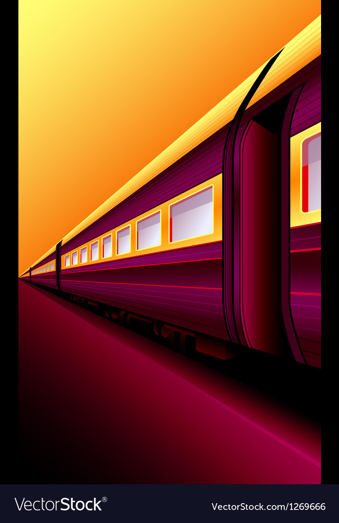 Oriental express vector | Price: 3 Credit (USD $3)
