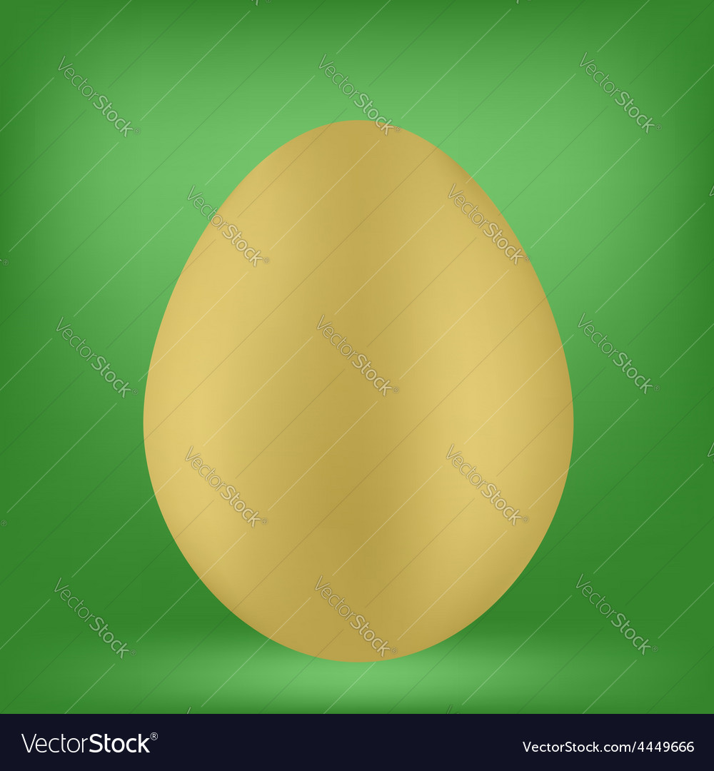 Single egg vector | Price: 1 Credit (USD $1)