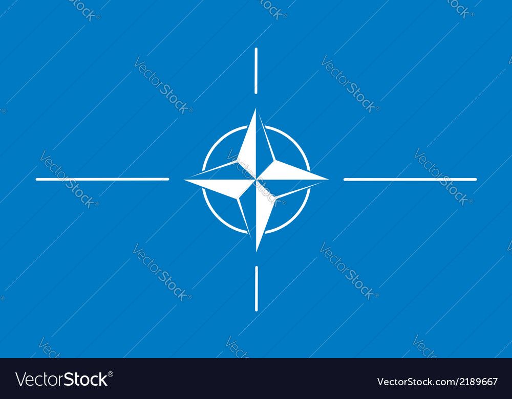 North atlantic treaty organization nato vector | Price: 1 Credit (USD $1)