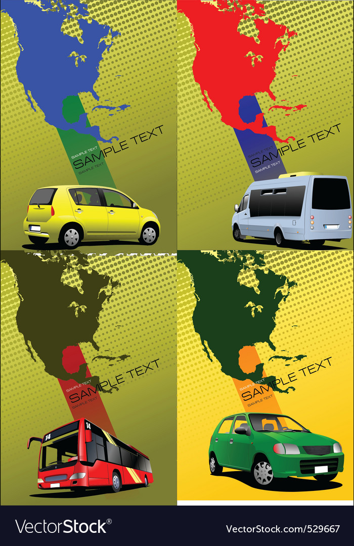 Transport poster vector | Price: 1 Credit (USD $1)