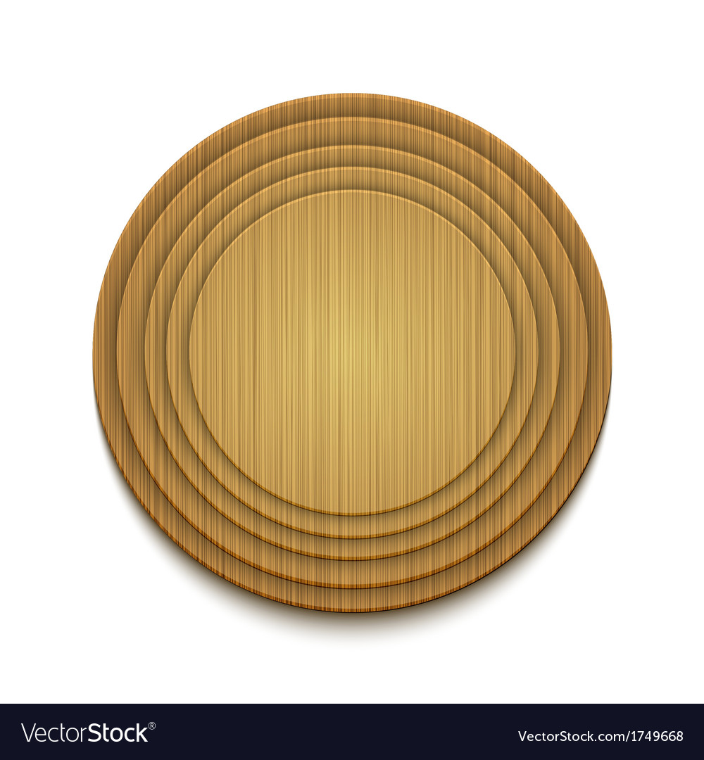 Wooden circle background eps10 vector | Price: 1 Credit (USD $1)
