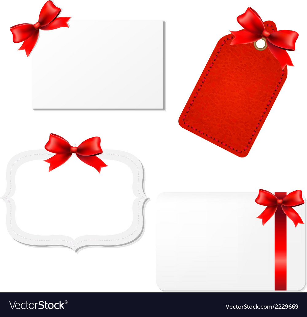 Big set blank gift tags vector | Price: 1 Credit (USD $1)