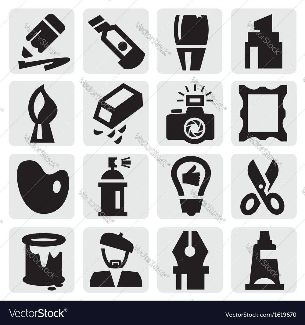 Creative icons vector | Price: 1 Credit (USD $1)