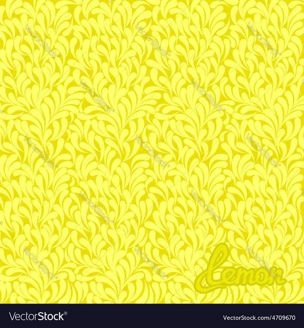 Lemon abstract pattern vector | Price: 1 Credit (USD $1)