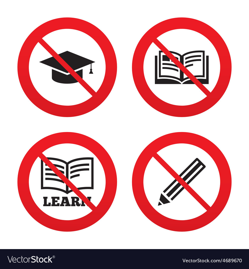 Pencil and open book signs graduation cap icon vector | Price: 1 Credit (USD $1)