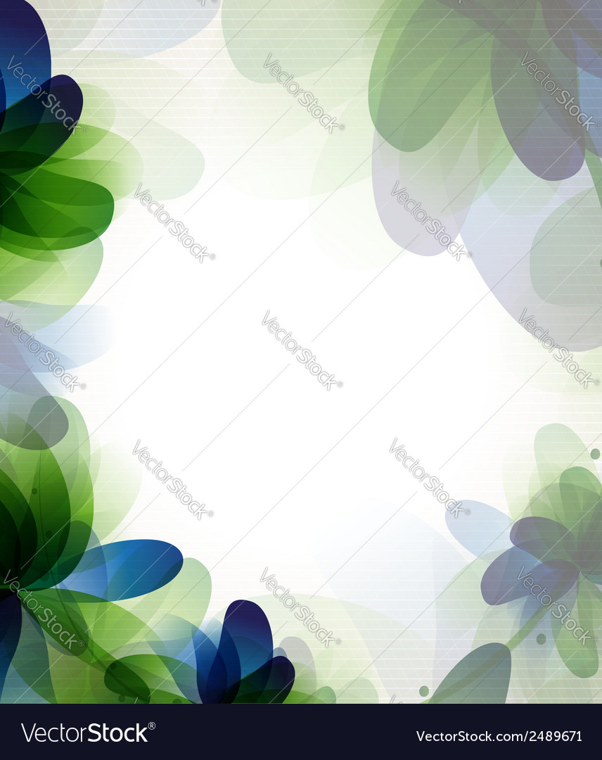 Transparent flowers vector | Price: 1 Credit (USD $1)