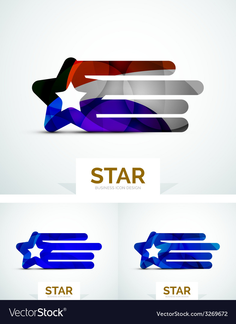Abstract colorful logo design vector | Price: 1 Credit (USD $1)