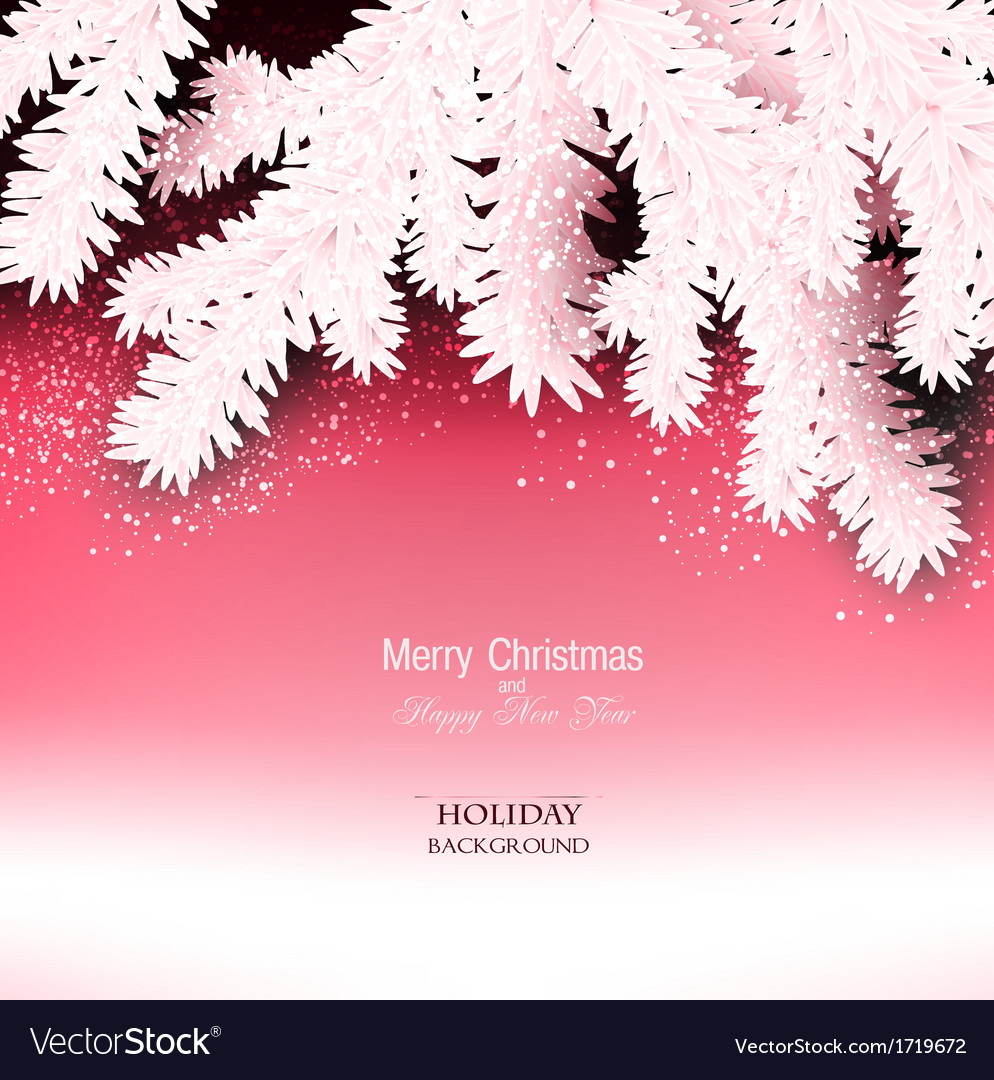 Elegant christmas background with place for text vector   Price: 1 Credit (USD $1)