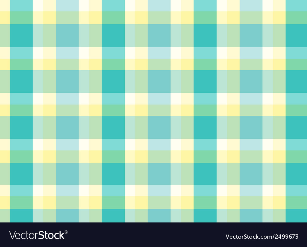 A topview of a checkered table mat vector | Price: 1 Credit (USD $1)