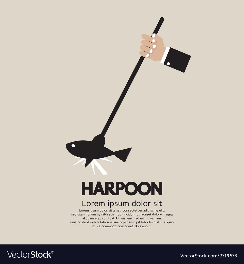 Harpoon vector | Price: 1 Credit (USD $1)