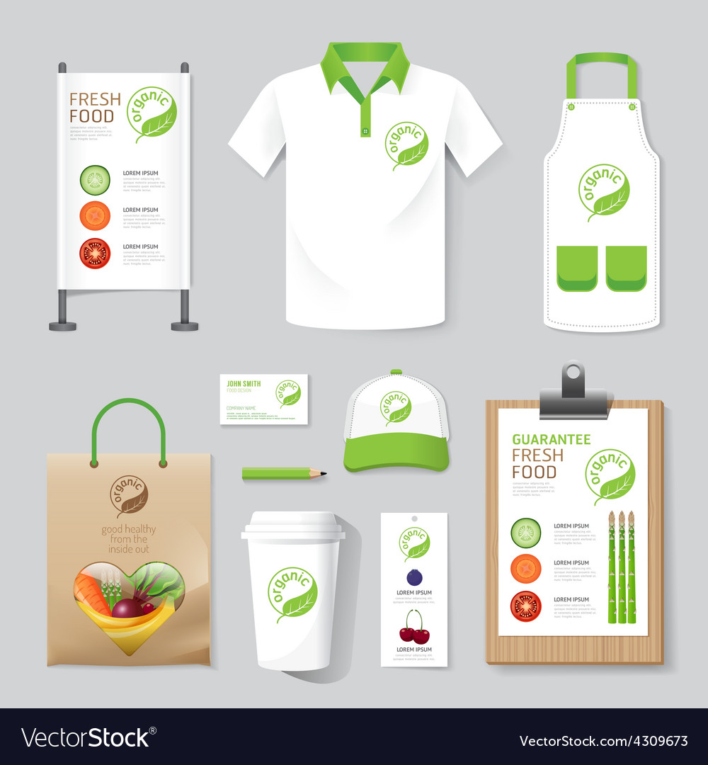 Health beauty shop set flyer menu package t-shirt vector | Price: 1 Credit (USD $1)