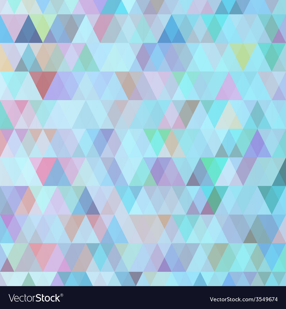 Abstract background of triangles of different vector | Price: 1 Credit (USD $1)