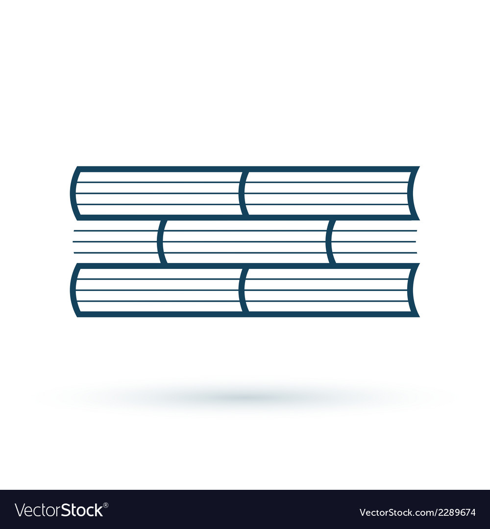 Read books concept icon vector | Price: 1 Credit (USD $1)