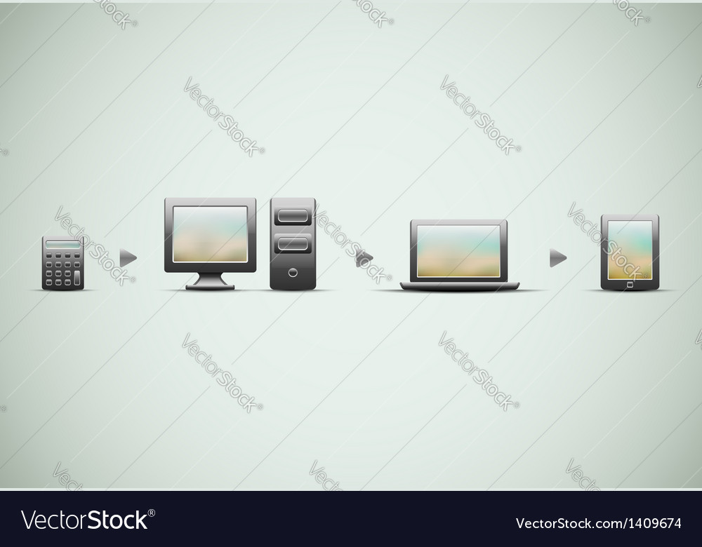 Technological progress vector | Price: 3 Credit (USD $3)