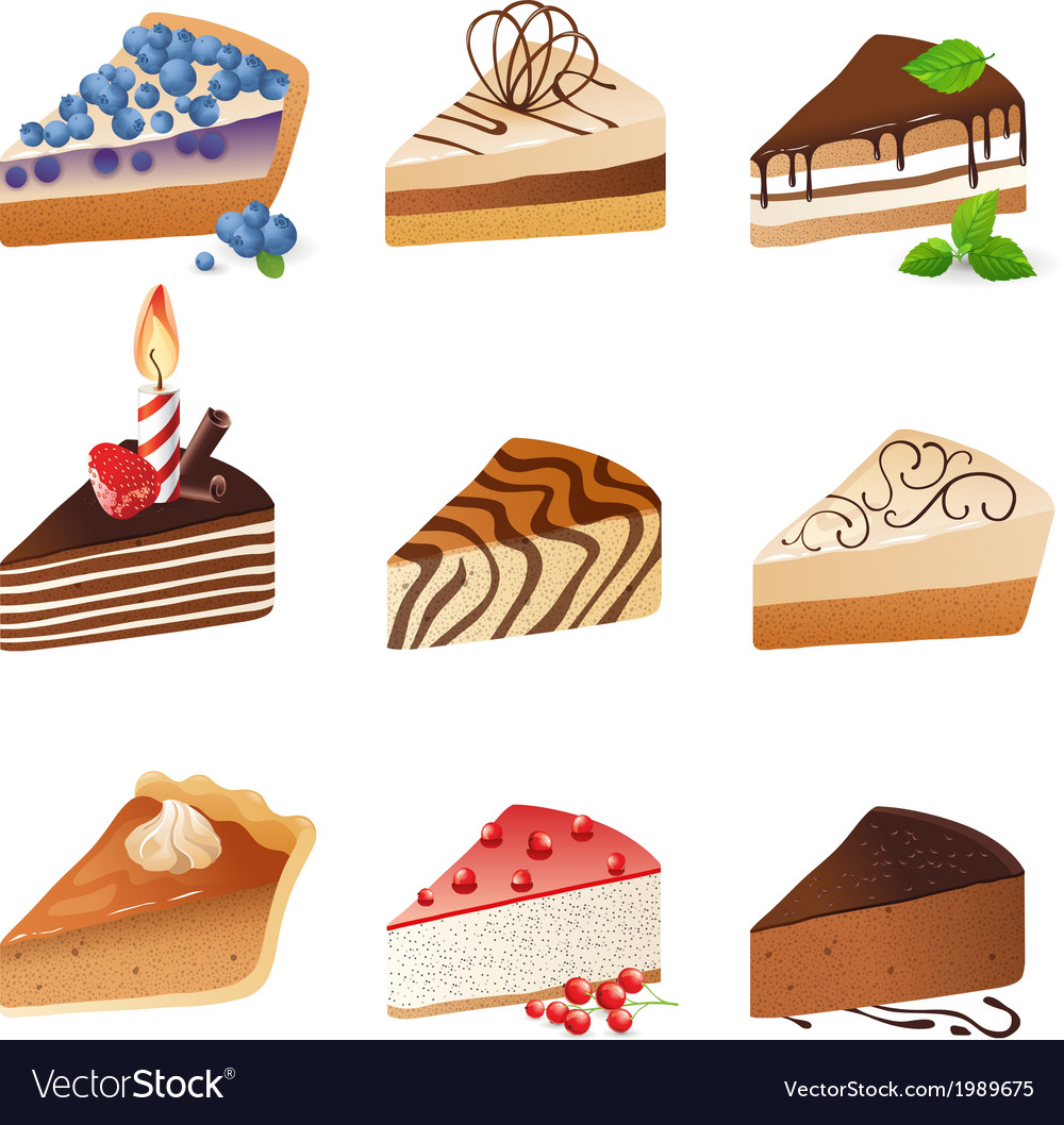 Cakes vector | Price: 1 Credit (USD $1)