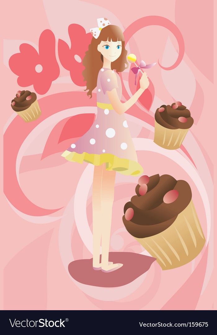 Candy land vector | Price: 1 Credit (USD $1)