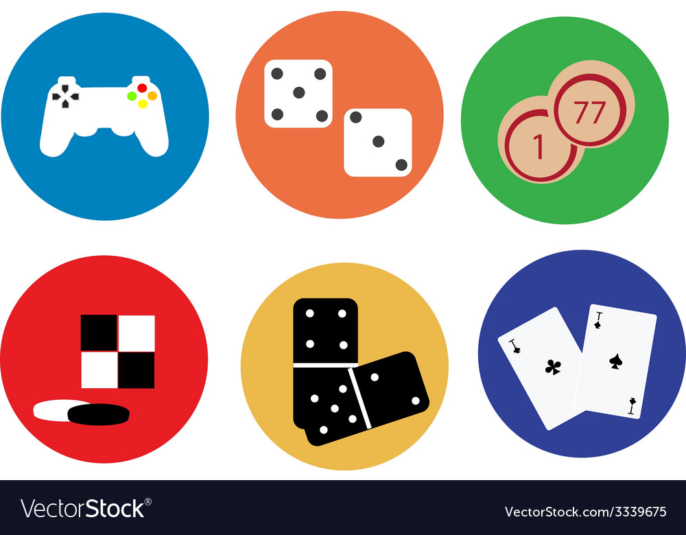 Game icons vector | Price: 1 Credit (USD $1)