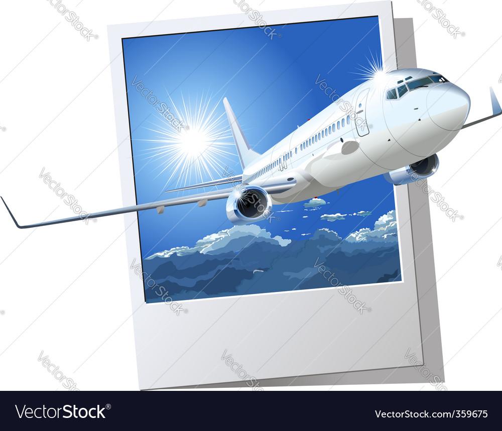 Passenger boeing 737 vector | Price: 3 Credit (USD $3)