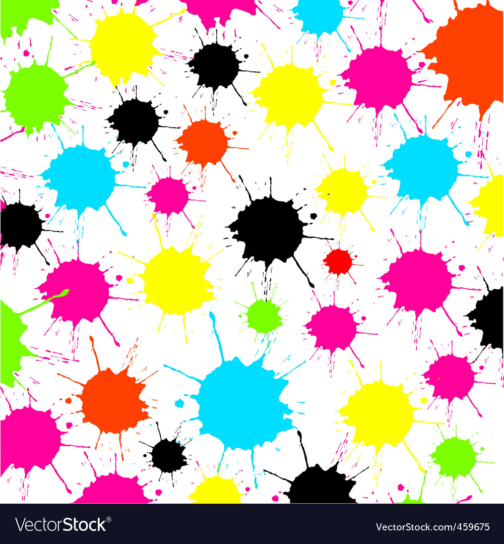 Splash white background vector | Price: 1 Credit (USD $1)