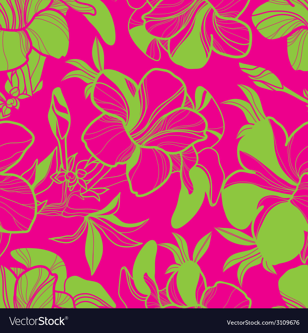 Floral semaless pattern bright 2 vector | Price: 1 Credit (USD $1)