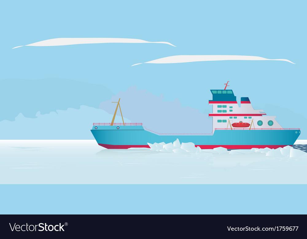 Icebreaker vector | Price: 1 Credit (USD $1)