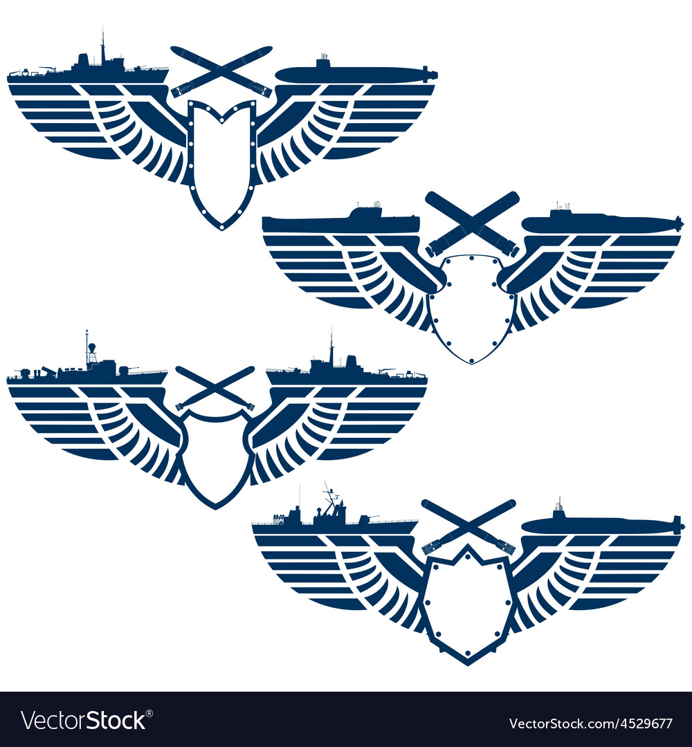 Icons of the navy vector | Price: 1 Credit (USD $1)