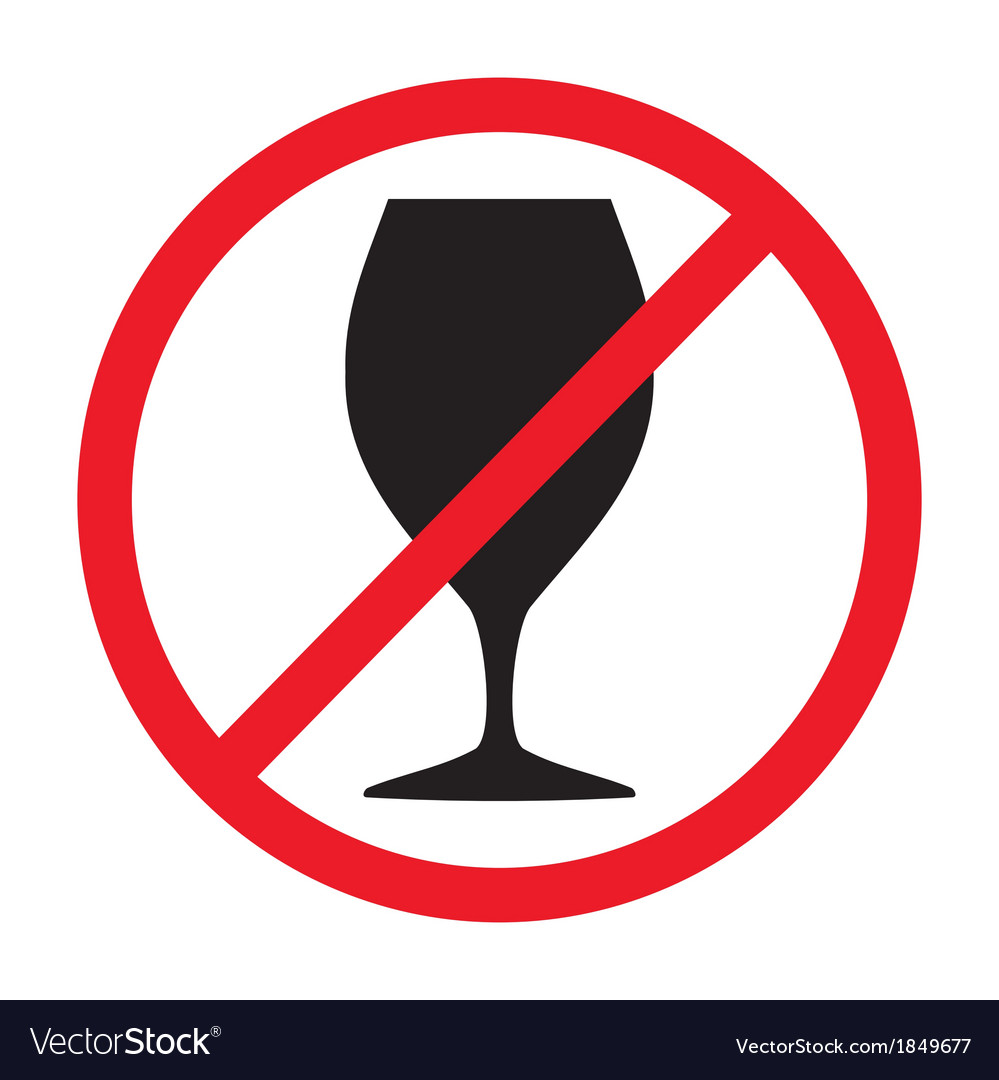 Sign not drink vector   Price: 1 Credit (USD $1)