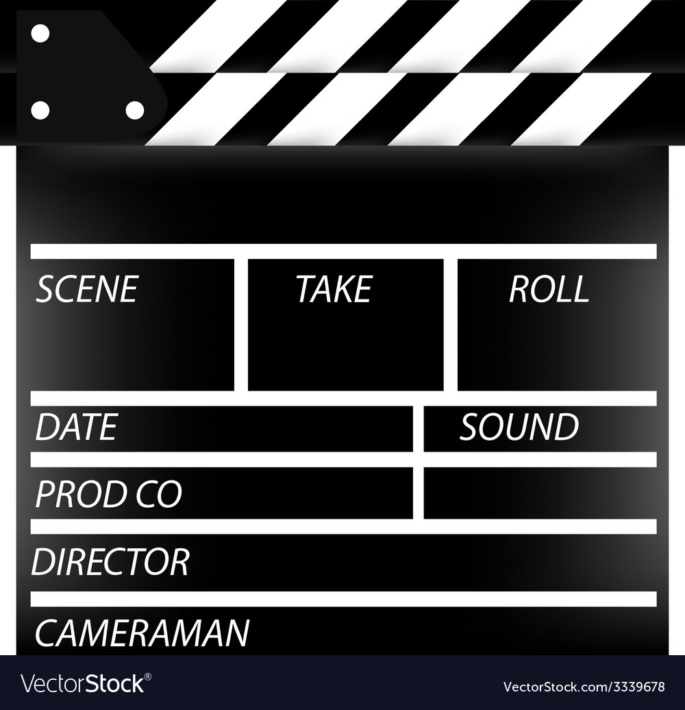 Cinema flap vector | Price: 1 Credit (USD $1)