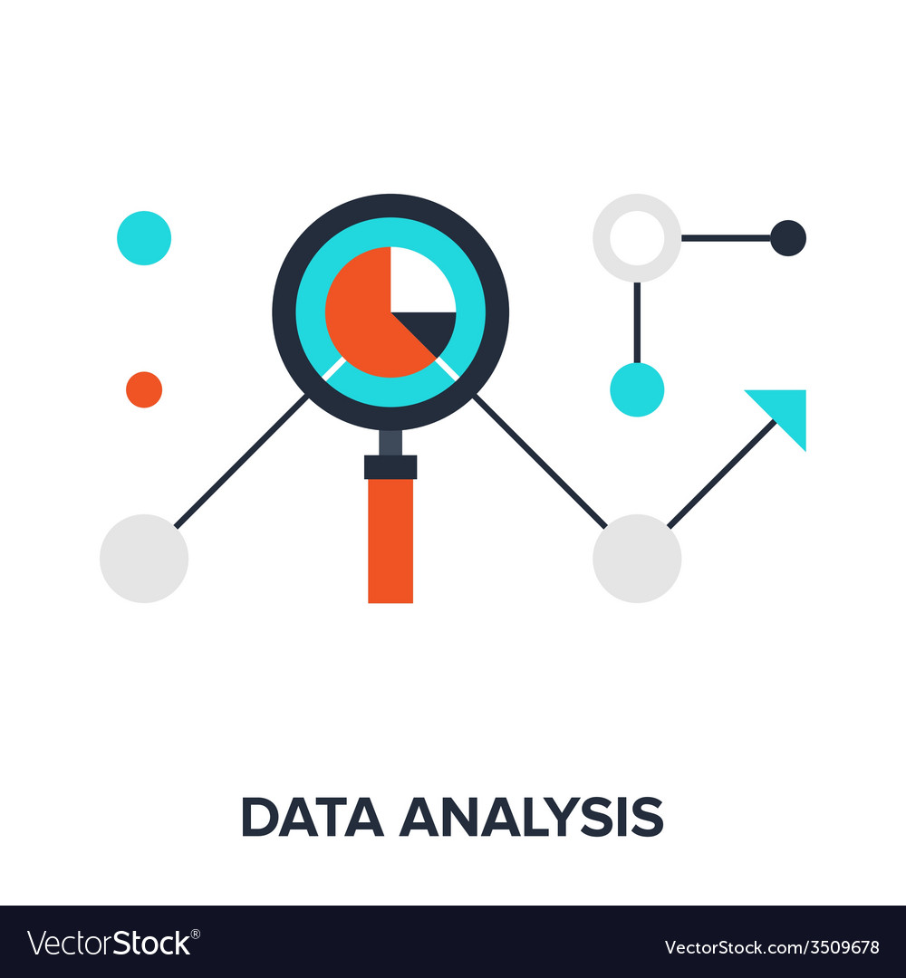 Data analysis vector | Price: 1 Credit (USD $1)