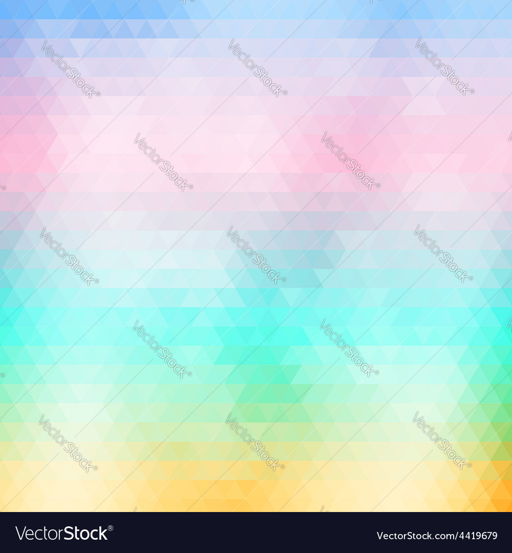 Soft colored abstract geometric background vector | Price: 1 Credit (USD $1)