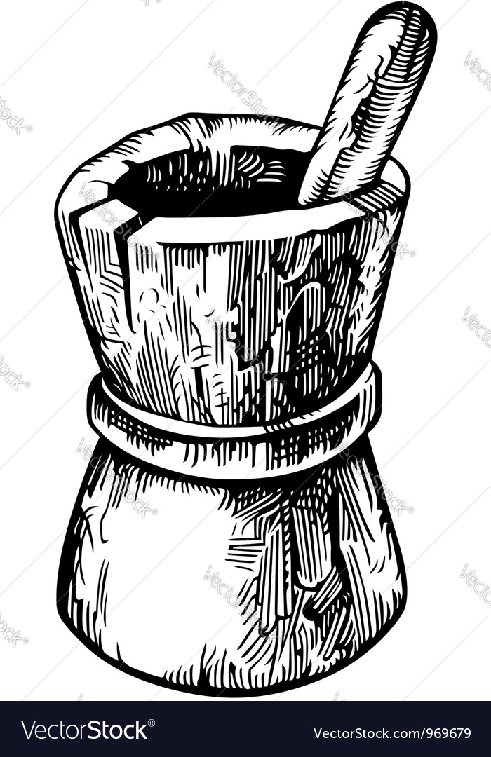 Wooden pounder vector   Price: 1 Credit (USD $1)