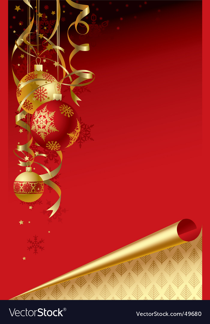 Christmas & new-year's greeting card vector | Price: 1 Credit (USD $1)