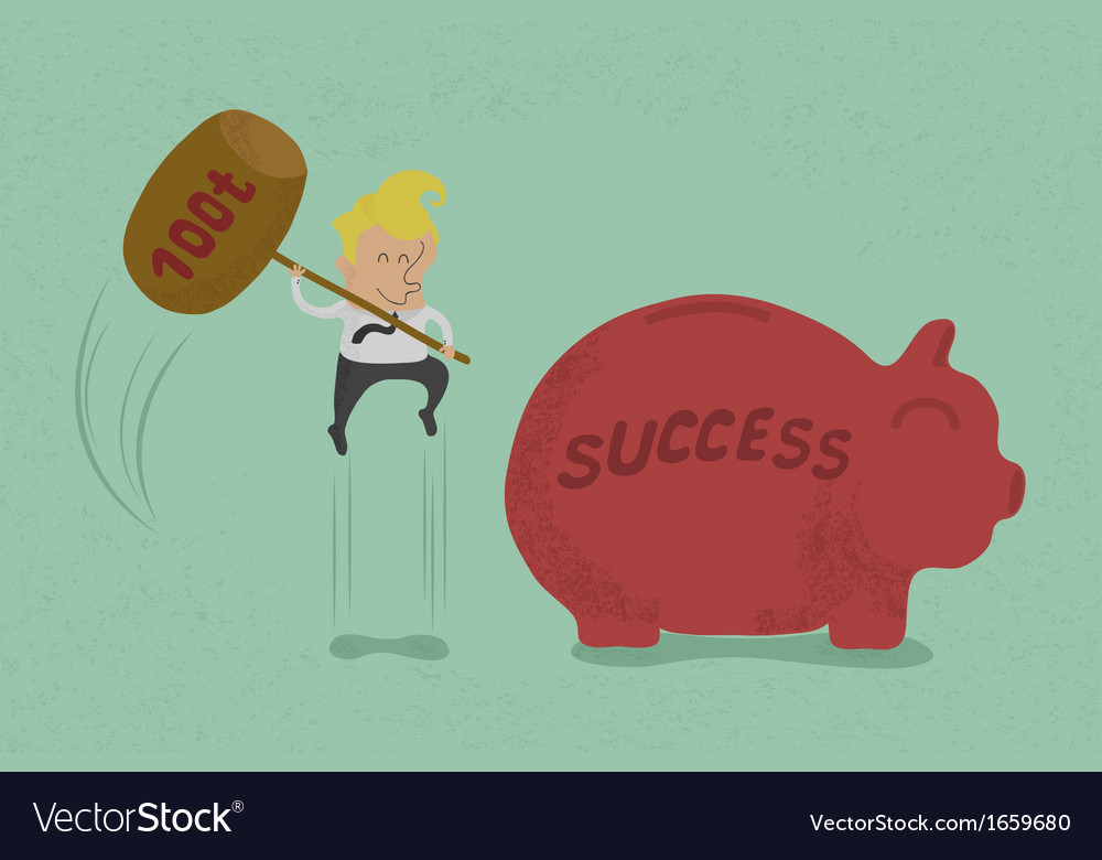 Hammersuccess vector | Price: 1 Credit (USD $1)