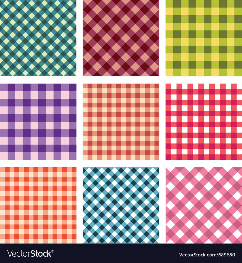 Seamless square pattern vector | Price: 1 Credit (USD $1)