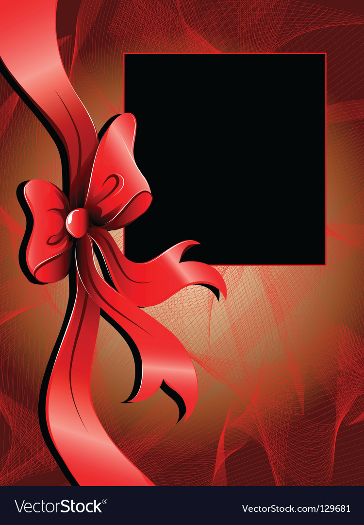 Abstract background with ribbon vector | Price: 1 Credit (USD $1)