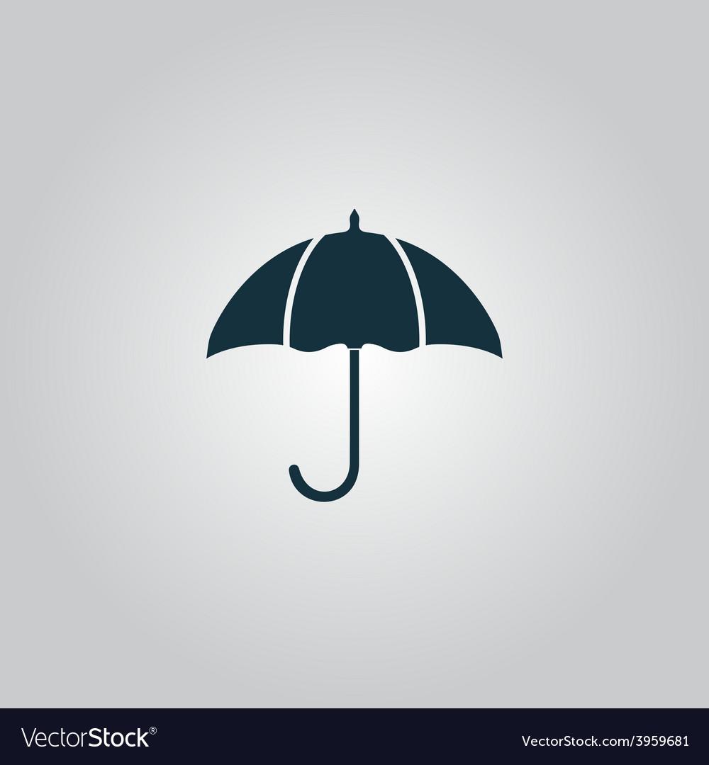 Umbrella icon vector | Price: 1 Credit (USD $1)
