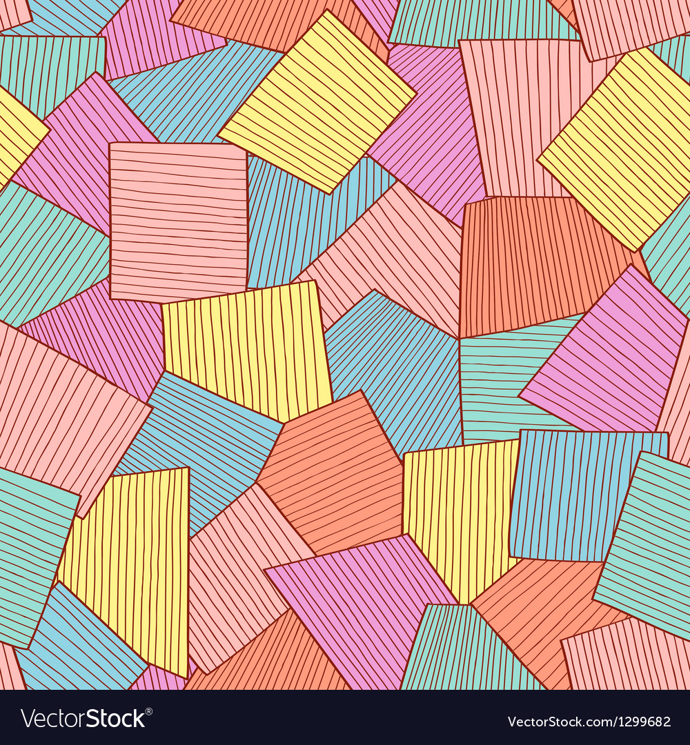 Abstract tile pattern vector | Price: 1 Credit (USD $1)