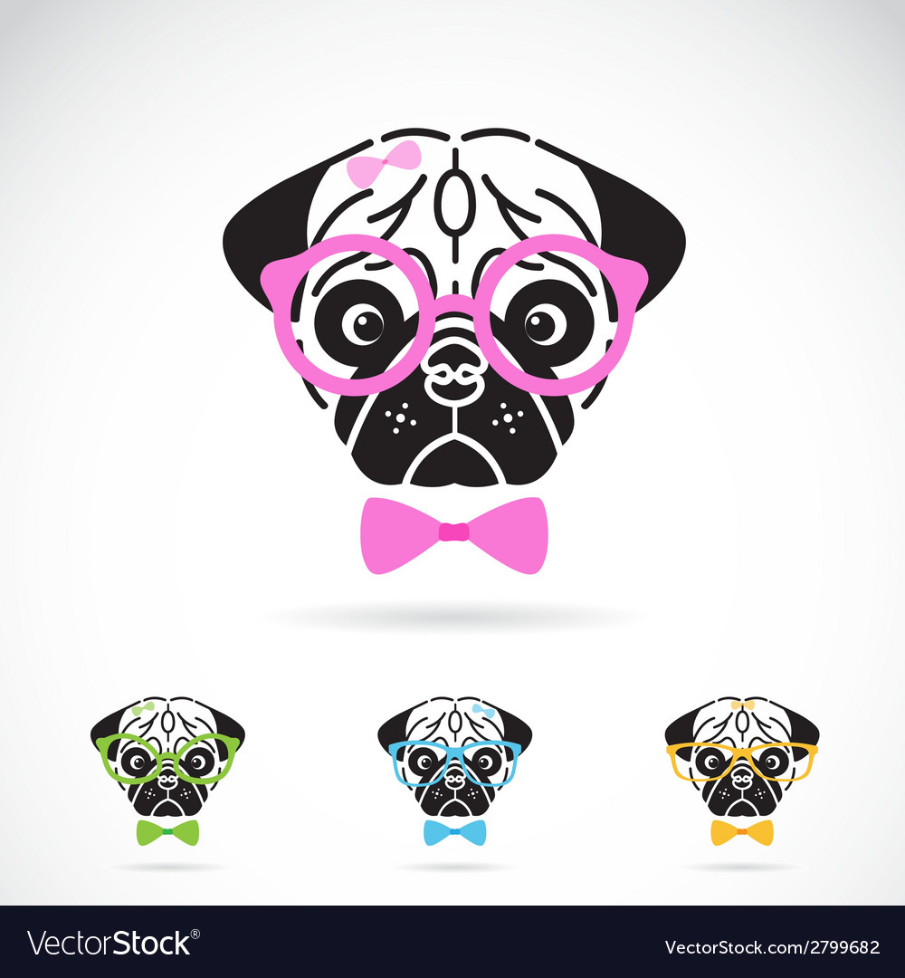 Dog glasses vector | Price: 1 Credit (USD $1)