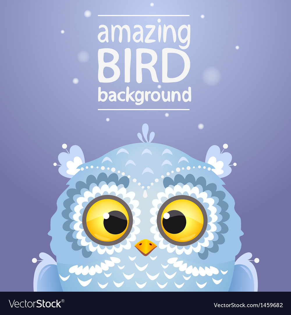 Owl cute vector | Price: 1 Credit (USD $1)