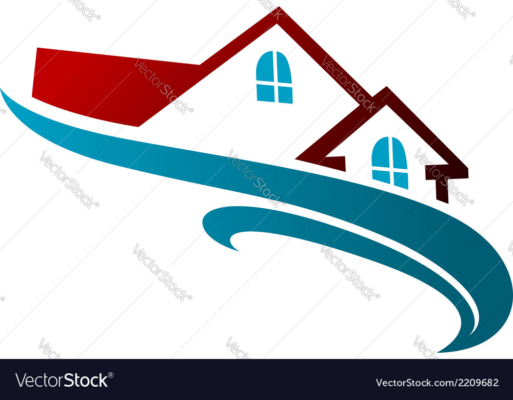 Real estate symbol vector | Price: 1 Credit (USD $1)