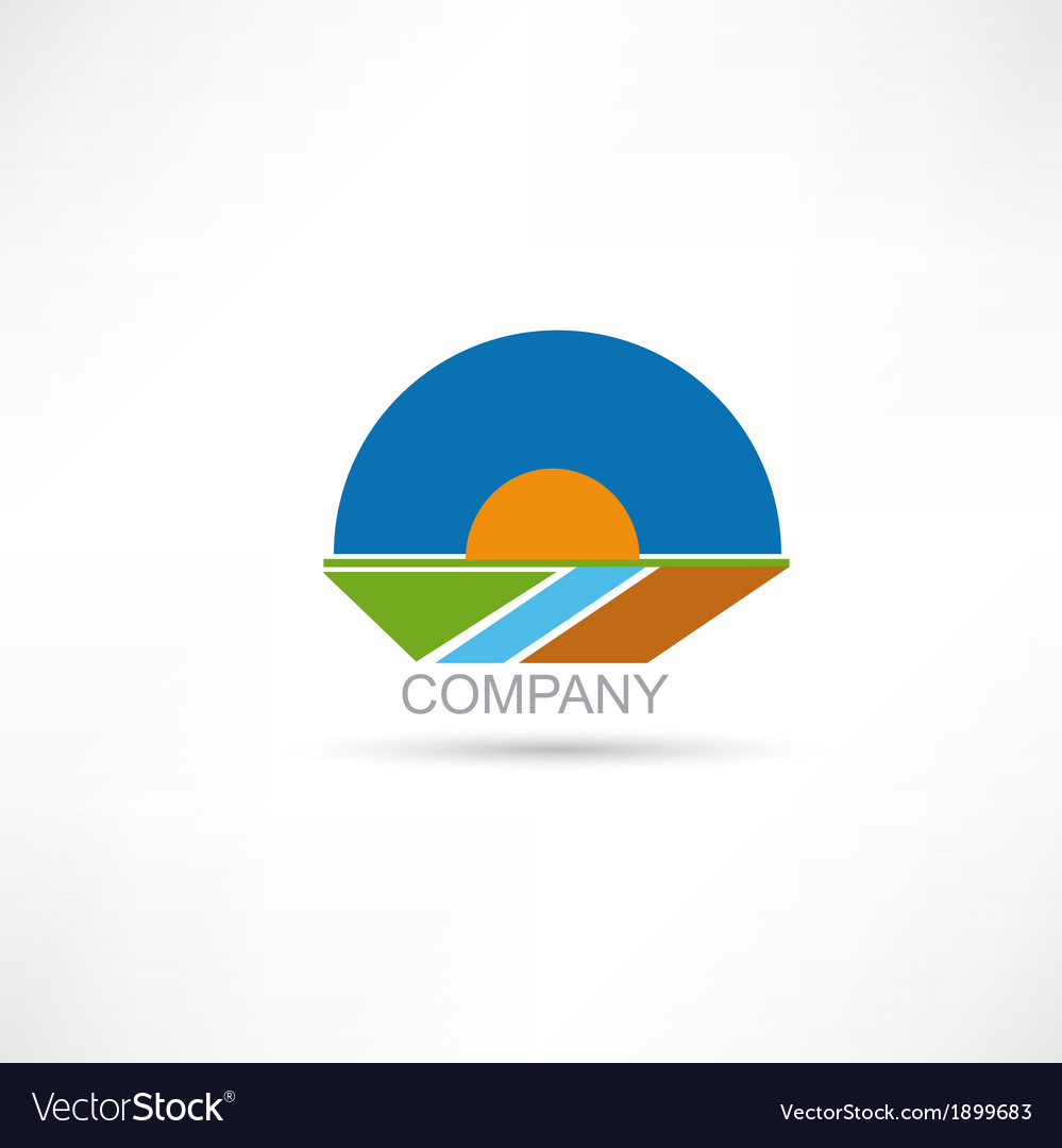 Company agriculture icon vector | Price: 1 Credit (USD $1)